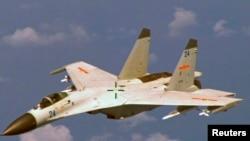 中國殲-11戰機(資料照)