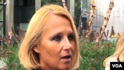 Maja Kocijančič, portparolka komesara EU za susedsku politiku i pregovore o proširenju, Johanesa Hana