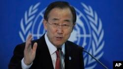 Sekjen PBB Ban Ki-moon mengatakan Taliban mungkin bersedia mengadakan pembicaraan untuk meminimalkan korban sipil di Afghanistan (foto: dok).