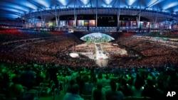 Lễ khai mạc Thế vận hội Mùa hè Rio de Janeiro 2016, ngày 5 tháng 8 năm 2016.
