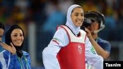 کیمیا علیزاده تکواندوکار موفق ایرانی