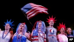 Americans Celebrate the Fourth of July
