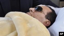 埃及前總統穆巴拉克被廢黜後一直患病(資料圖片)