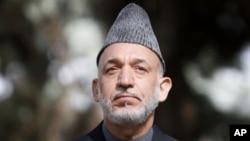 阿富汗总统卡尔扎伊(资料照)