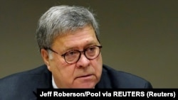 William Barr, sekretar za pravosuđe (Foto: Jeff Roberson/Pool via REUTERS)