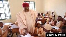 Des écoliers au Nigéria