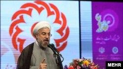 عکس آرشیوی از حسن روحانی رئیس جمهوری ایران