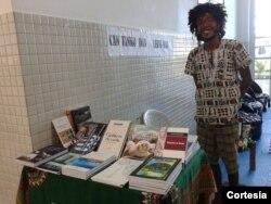 Lauro José Cardoso, aluno da Universidade da Integração Internacional da Lusofonia Afro-Brasileira (UNILAB)