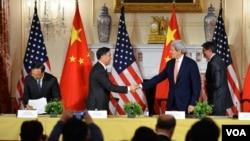 美中同意在氣候變化領域加強合作(圖片來源:美國國務院)