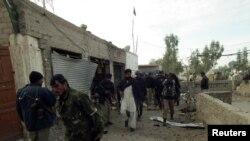10일 무장 요원들이 공격한 파키스탄 북서부 바누 지역의 경찰서.