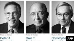 Dy amerikanë dhe një britanik nderohen me çmimin Nobel për ekonominë