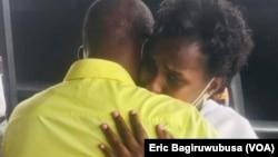 Uwibambe Nadia ahoberana bwambere na Nyirarume Vicent Hategekimana