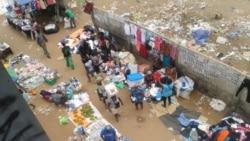 Uige: Alimentos vendidos em condições saniatárias em frente ao hospital 3:04