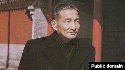 陈元的父亲陈云1959年在中南海勤政殿,他是中共元老。(中国老照片,出处待考)
