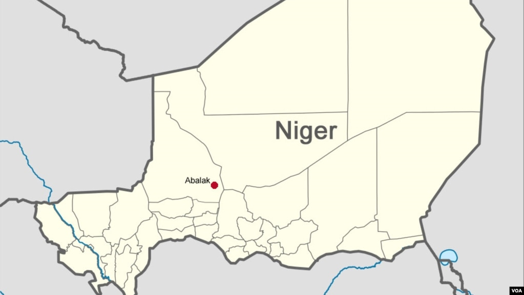 American Aid Worker Kidnapped In Niger - Us embassy niger map