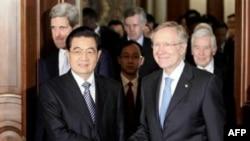 Չինաստանի նախագահը հանդիպումներ է ունեցել ԱՄՆ-ի օրենսդիրների հետ