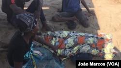 Familiar chora morte de jovem pela polícia em Benguela (Foto de Arquivo)