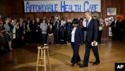 En Dallas Obama reafirmó su convicción sobre los beneficios del plan de cobertura de salud.