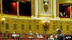 Французький міністр праці виступає перед членами Сенату