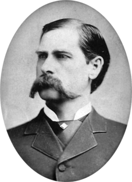 Portrait of Wyatt Earp