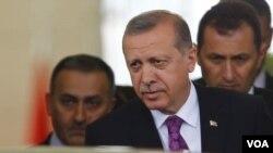 레제프 타이이프 에르도안 터키 대통령. (자료사진)