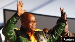 South Africa's President Jacob Zuma, December 16, 2012.