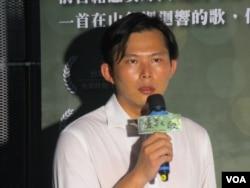台湾太阳花学运总指挥黄国昌