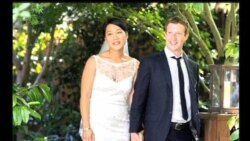 2012-05-20 美國之音視頻新聞: Facebook臉書網站創辦人結婚