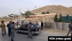Pos pemeriksaan polisi di provinsi Kunduz, Afghanistan (foto: ilustrasi).