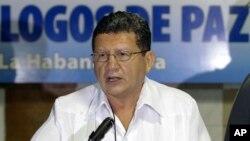Una vez más, el portavoz de las FARC fue alias Pablo Catatumbo.