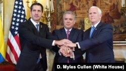 El presidente de Colombia, Iván Duque, ha sido clave en visibilizar la crisis que vive Venezuela y ha impulsado acciones en foros internacionales encaminadas a la búsqueda de soluciones.