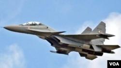 Chiến đấu cơ Sukhoi Su-30.