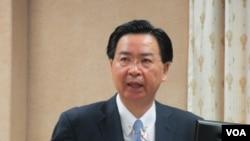 台灣外長吳釗燮。(資料照片)