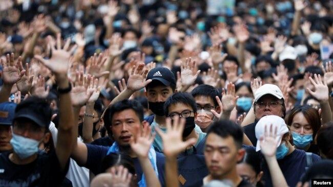 北京在香港问题上被批自我误导