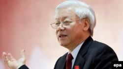 Tổng bí thư Đảng Cộng sản Việt Nam Nguyễn Phú Trọng.