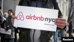 Airbnb protestó contra la ley bajo el argumento de que Nueva York favorece al sector hotelero a expensas de los ciudadanos.