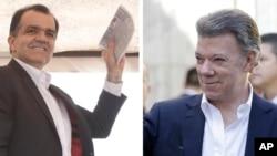 Óscar Iván Zuluaga disputará la segunda vuelta contra el presidente Juan Manuel Santos.