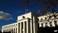 Archivo - Sede de la Reserva Federal, en Washington D.C.