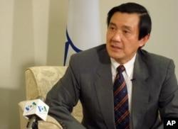 台湾总统马英九接受美国之音采访