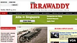Peretas tak dikenal memasang artikel-artikel palsu di majalah berita di internet, Irrawaddy, yang dikelola para wartawan Burma di pengasingan.
