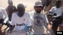 Yaşar Xudiyev Afrikada olarkən