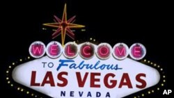 """Sin City"" - Las Vegas, Nevada - brought out the big spenders when the government's largest procurer of property and supplies held a meeting there in 2010. (Carol M. Highsmith)"