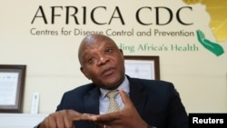 John Nkengasong, Africa's Director of the Centers for Disease Control (CDC)
