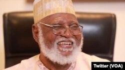 Abdulsalam Abubakar Tsohon Shugaban Kasar Najeriya.