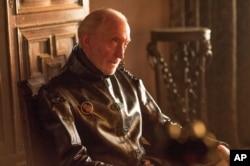 چارلز دانس، در صحنه ای از فصل چهارم سریال بازی تاج و تخت Photo: HBO