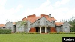 La maison du vice-président William Ruto à Sugoi après d'Eldoret, au Kenya,le 4 août 2010.