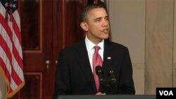 Obama habló por segunda vez en una semana sobre la crisis política que enfrenta Egipto, y en su discurso dijo que el país árabe vive un momento de cambio.