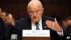 美國國家情報總監克拉珀。