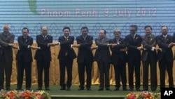 9일 캄보디아의 수도 프놈펜에서 개막한 동남아시아국가연합(ASEAN) 외교장관 회의.
