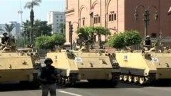 Simpatizantes de Mursi en las calles